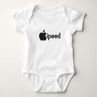 Body Para Bebê onsie engraçado ipeed do bebê