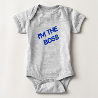 "Body Para Bebê Onsie infantil - ""eu sou impressão do chefe"""