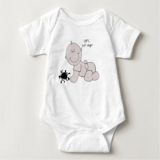 Body Para Bebê OOPS, apenas Sayin -
