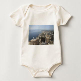Body Para Bebê Opinião de Arial de Seattle