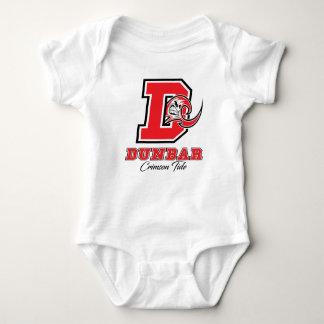 Body Para Bebê Orgulho carmesim da maré de Dunbar