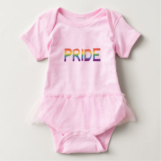 Body Para Bebê Orgulho da bandeira do arco-íris
