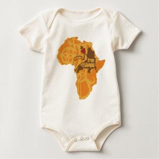 Body Para Bebê Orgulho de Etiópia - cruzando o continente
