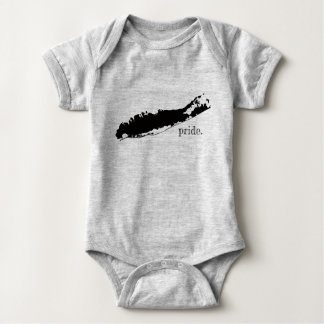 Body Para Bebê Orgulho New York de Long Island