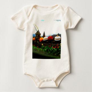 Body Para Bebê Original do respingo de Bali do guarda-chuva