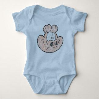 Body Para Bebê Orson o Creeper do bebê do porco