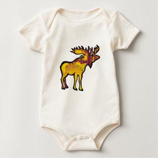 Body Para Bebê Os alces dourados