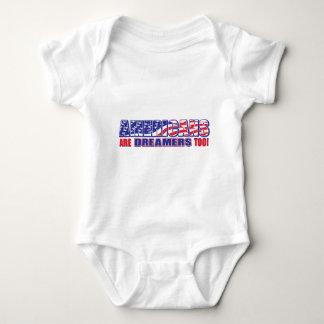 Body Para Bebê Os americanos são sonhadores demasiado!