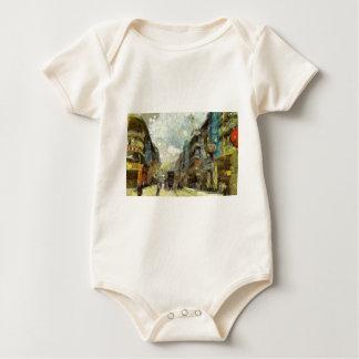 Body Para Bebê os anos 60 Hong Kong