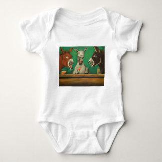 Body Para Bebê Os asnos de riso