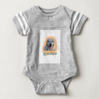 Body Para Bebê Os cães são melhores do que seres humanos