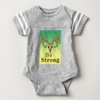 Body Para Bebê Os cervos do crânio sejam citações fortes