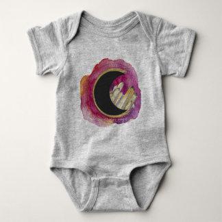 """Body Para Bebê Os cristais """"universo são"""" bodysuit holístico"""
