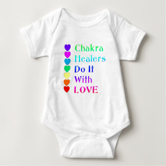 Body Para Bebê Os curandeiros de Chakra fazem-no com amor em