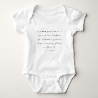Body Para Bebê Os espírito de Kindred não são escassos