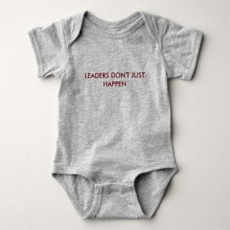 Body Para Bebê Os líderes apenas não acontecem Bodysuit do bebê