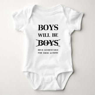 Body Para Bebê Os meninos serão meninos (a praga livre)