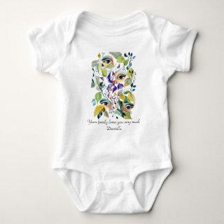 Body Para Bebê Os olhos surreais vanguardistas visionários