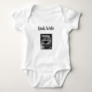 Body Para Bebê Os pais escrevem o Bodysuit do bebê