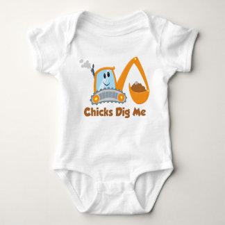 Body Para Bebê Os pintinhos escavam-me