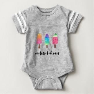 Body Para Bebê Os Popsicles sempre coloridos os mais frescos da