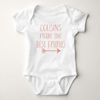 Body Para Bebê Os primos fazem aos melhores amigos o terno do