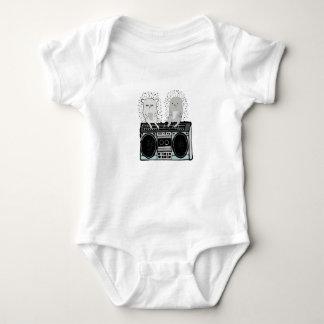 Body Para Bebê Ouriços no boombox