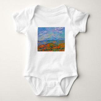 Body Para Bebê Outono azul enevoado de Ridge