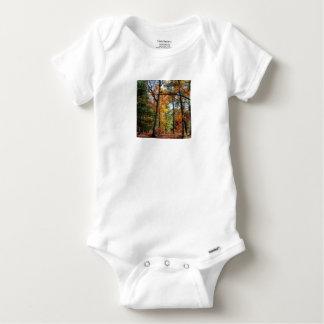 Body Para Bebê Outono na floresta