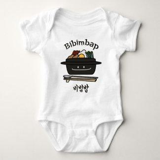 Body Para Bebê Ovo coreano dos vegetais do namul da bacia de