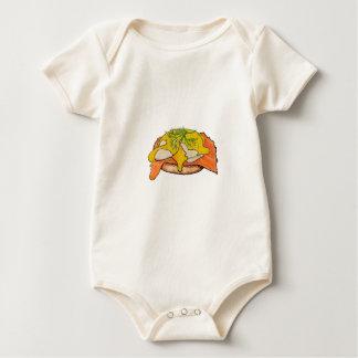 Body Para Bebê Ovos Benny