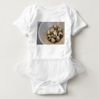 Body Para Bebê Ovos de codorniz