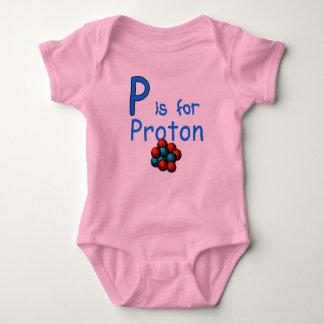 Body Para Bebê P é para Proton