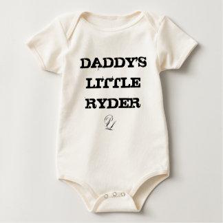 Body Para Bebê P.O Ryder pequeno Onesy do pai do leone