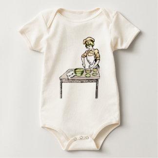 Body Para Bebê Padeiro