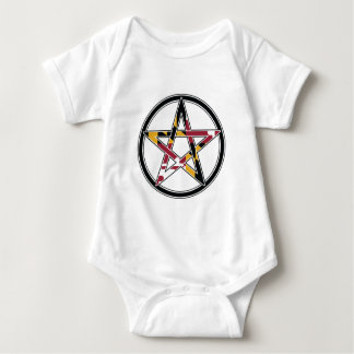 Body Para Bebê Pagan de Maryland transparente