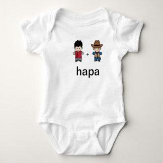 Body Para Bebê Pai chinês de Hapa & Bodysuit americano do pai