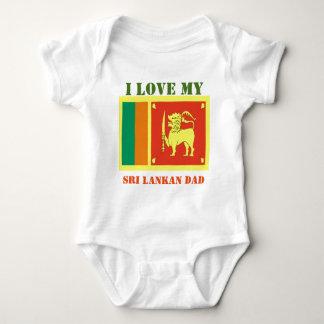 Body Para Bebê pai cingalês