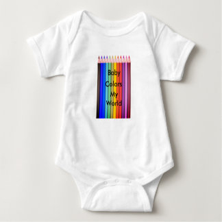 Body Para Bebê Pai cómico da mamã do terno da arte da cor do amor