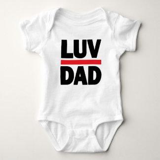 Body Para Bebê Pai de Luv