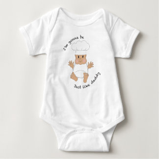 Body Para Bebê Pai do cozinheiro chefe