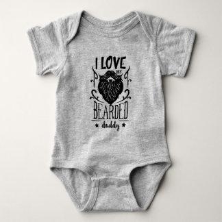 Body Para Bebê Pai farpado Onsie