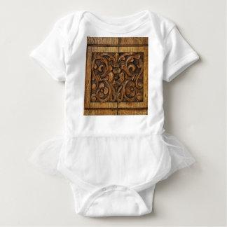 Body Para Bebê painel de madeira