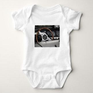 Body Para Bebê Painel de um carro clássico britânico velho