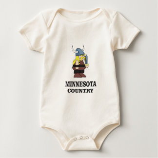 Body Para Bebê País de Minnesota