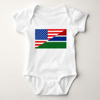 Body Para Bebê país dos EUA da bandeira de Estados Unidos América