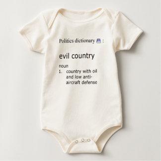 Body Para Bebê País mau