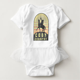 Body Para Bebê País Wyoming de Cody