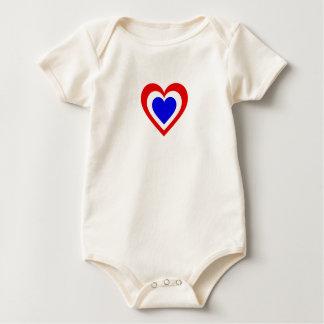 Body Para Bebê Países Baixos/corações Bandeira-Inspirados