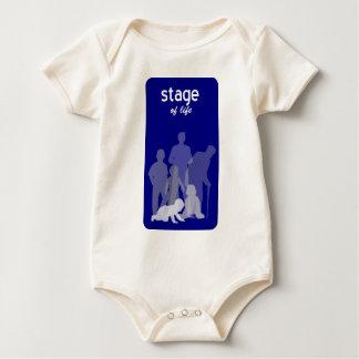 Body Para Bebê Palcos da vida